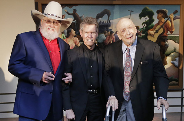 charlie-daniels-randy-travis-Fred-Foster-country-music-hall-of-fame-2016-billboard-650